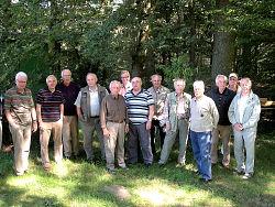 Ein früheres Foto der Wandergruppe aus 2012.