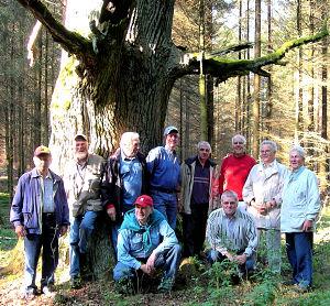 Ein früheres Foto der Wandergruppe aus 2006